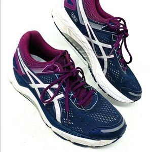 ASICS Size 10 Womens Ombre Gel Fortitude